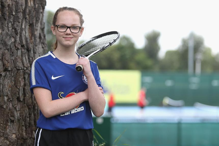 Maisie Smith, PL Tennis, Chelsea Foundation
