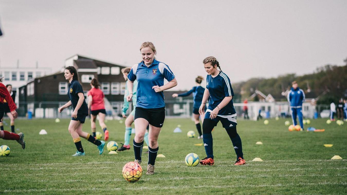 PL Girls Football programme