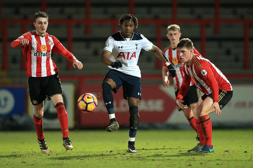 Spurs in PL2 action against Sunderland