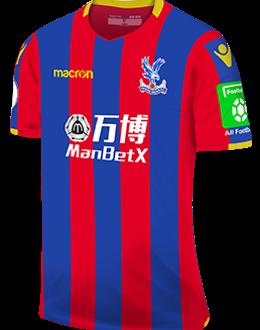 Crystal Palace home kit, 2017-18