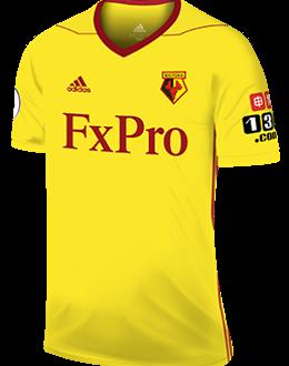 Watford home shirt, 2017-18