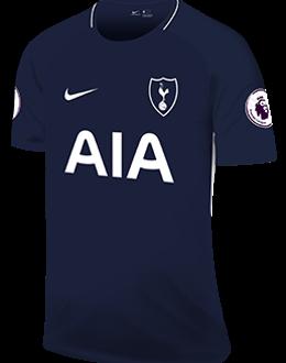 Spurs away kit, 2017-18