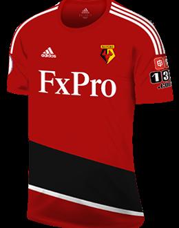 Watford away kit, 2017-18