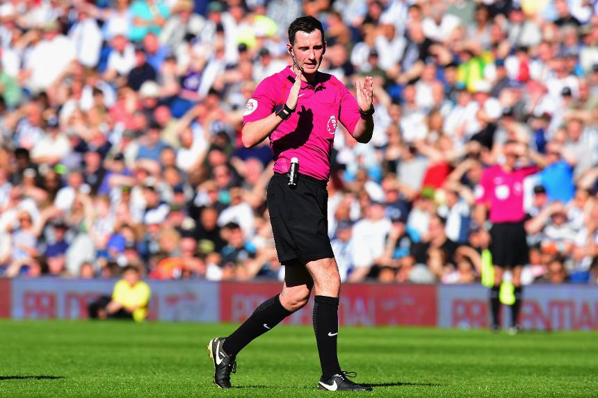 Chris Kavanagh, referee