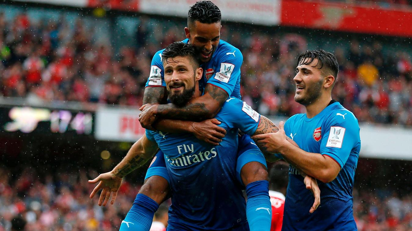 Arsenal 5-2 Benfica