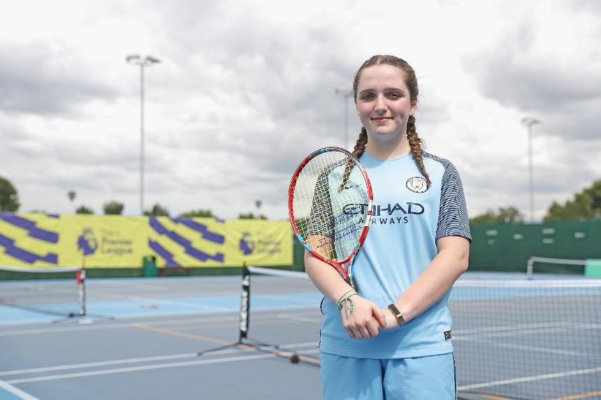 PL Tennis, Bella from Manchester City