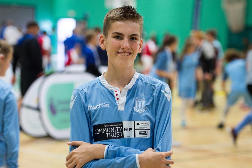 Liam, Stoke City Community Trust