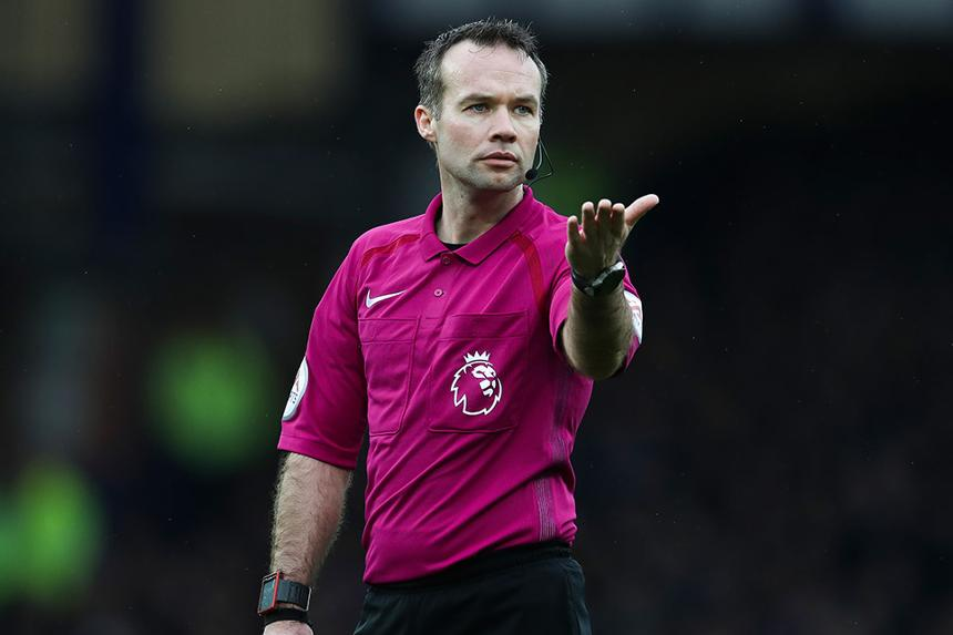 Referee Paul Tierney