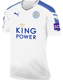 Leicester third kit, 2017-18