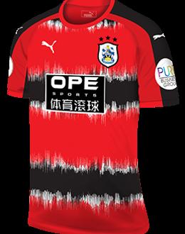Huddersfield third kit, 2017-18