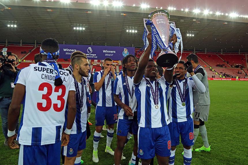 Porto celebrate winning PL International Cup