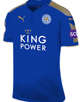 Leicester home kit, 2017-18