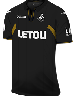 Swansea third kit, 2017-18