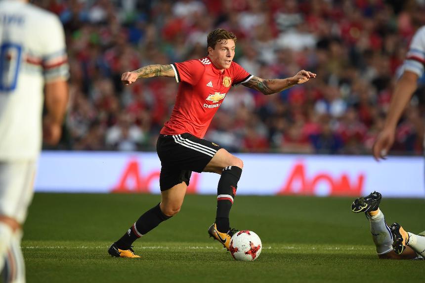 Lindelof snackas upp infor united debuten