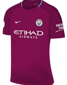 Man City away kit, 2017-18