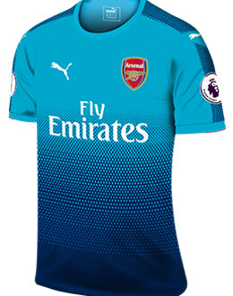 Arsenal away kit, 2017-18