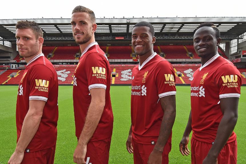 Liverpool FC new sleeve sponsor Western Union