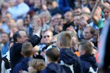 Rafael Benitez and Newcastle fans