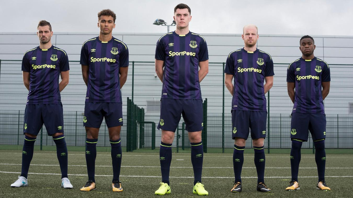 2017/18 Premier League kits: Everton third
