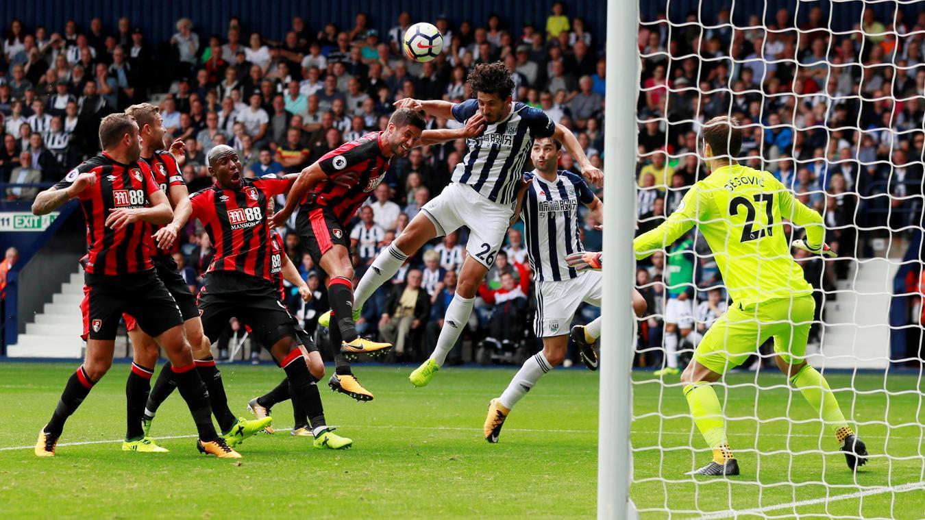 West Brom 1-0 AFC Bournemouth