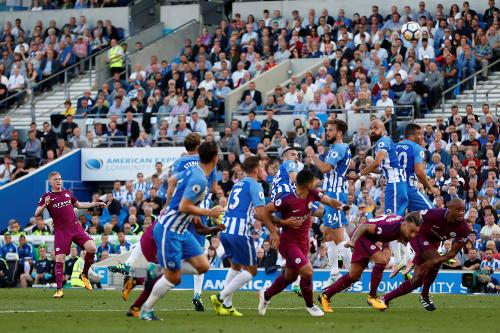 Image result for Brighton & Hove Albion vs Manchester City
