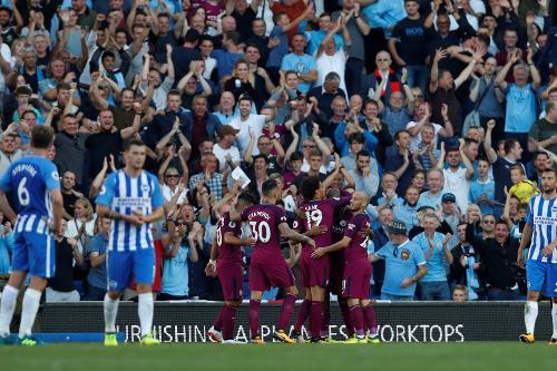 Brighton Hove Albion - Manchester City