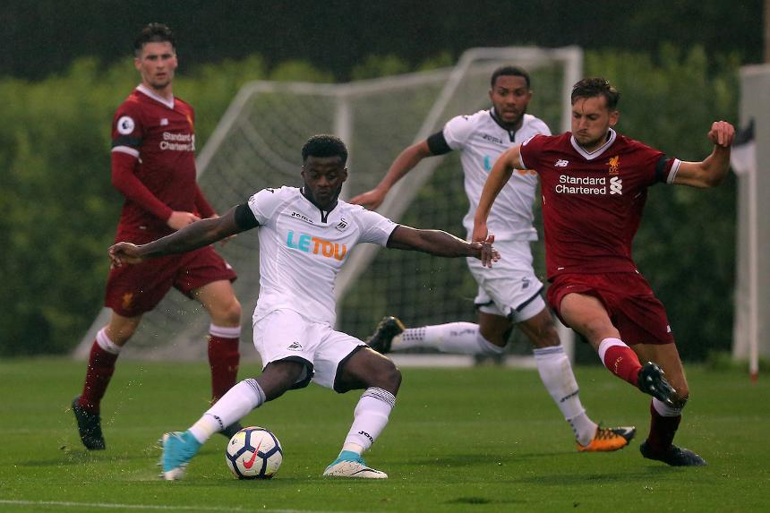 Photo of Swansea City in PL2 action