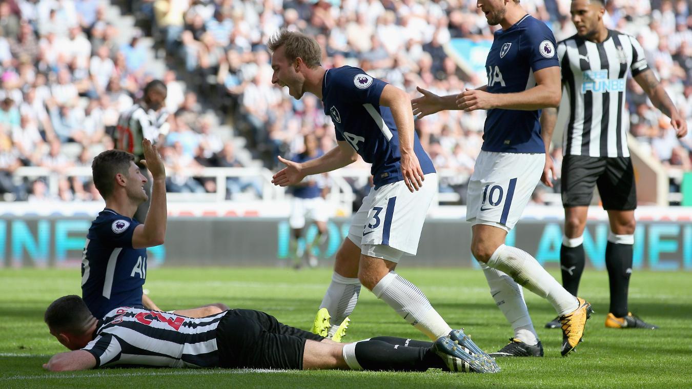 Newcastle 0-2 Spurs
