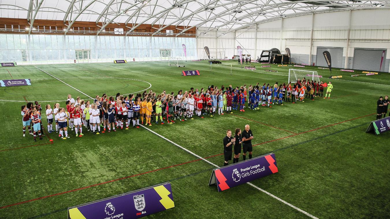 PL Girls National Football Festival