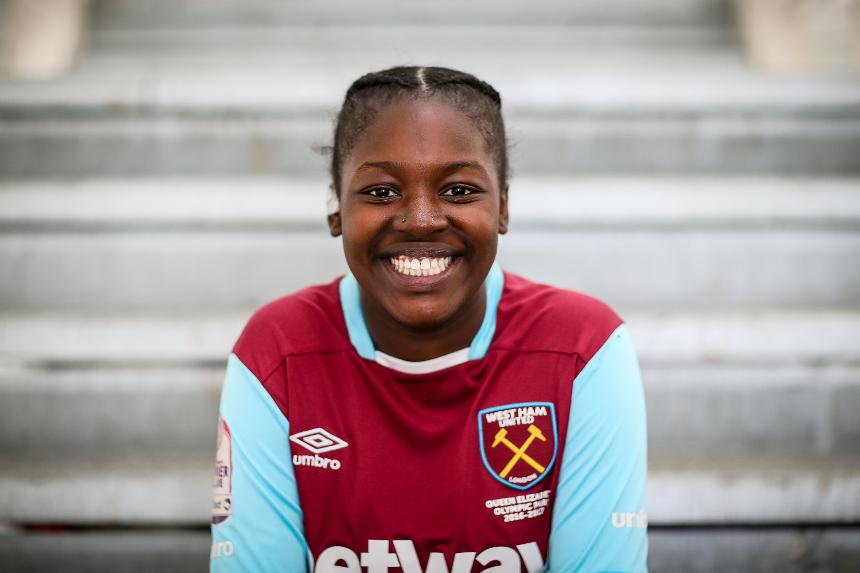 Kunmi, West Ham United, PL Girls Football
