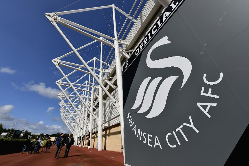 Swansea City Liberty Stadium general view