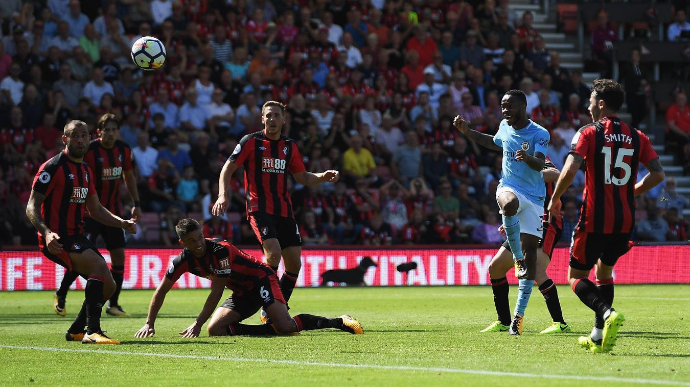 AFC Bournemouth 1-2 Manchester City