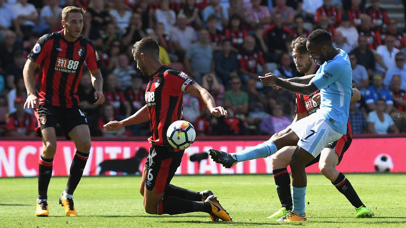 Raheem Sterling strikes at the death to grab victory for Manchester City