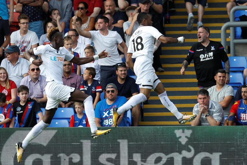 Crystal Palace 0-2 Swansea City
