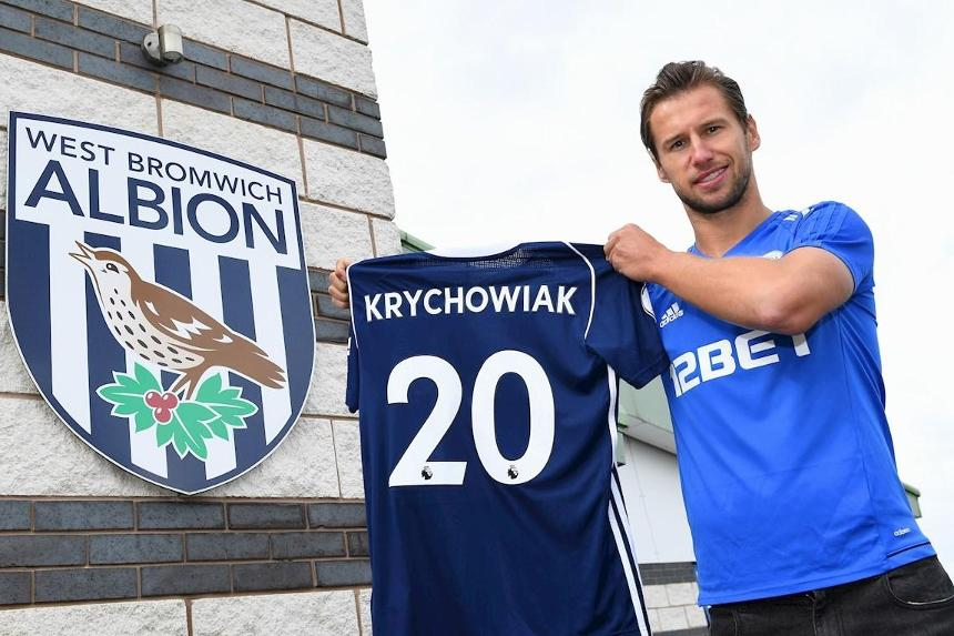 Chelsea target Krychowiak having medical at West Brom