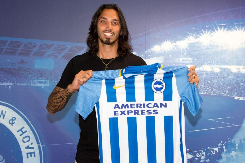 Ezequiel Schelotto joins Brighton & Hove Albion