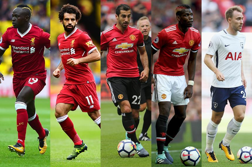 Fantasy stats: Midfielders on the rise