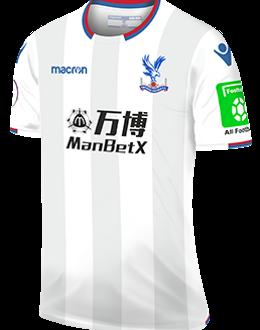 Crystal Palace third kit, 2017-18