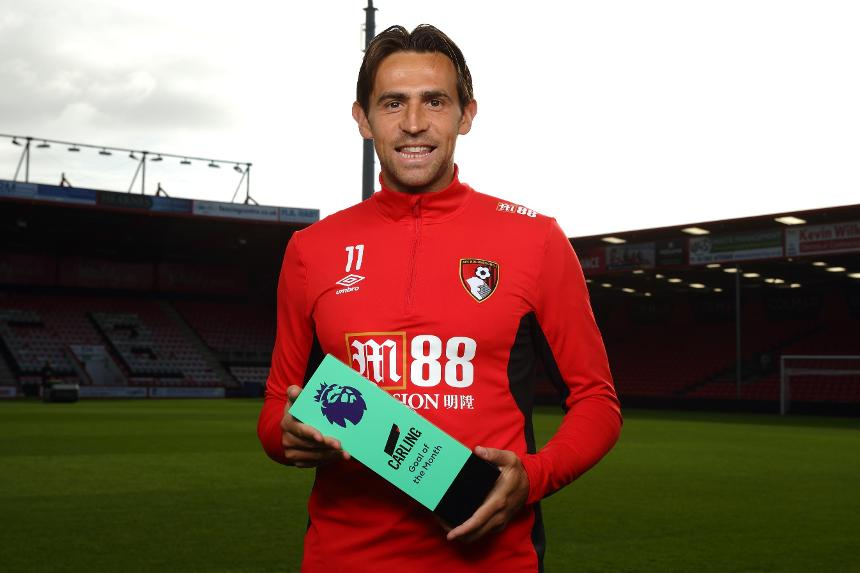 Charlie Daniels, AFC Bournemouth, Carling Goal of the Month for August