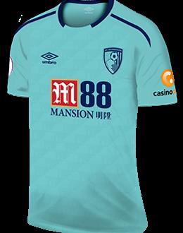 Bournemouth away kit, 2017-18