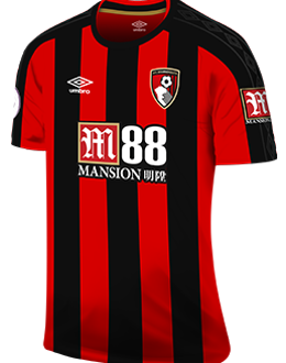 Bournemouth home kit, 2017-18
