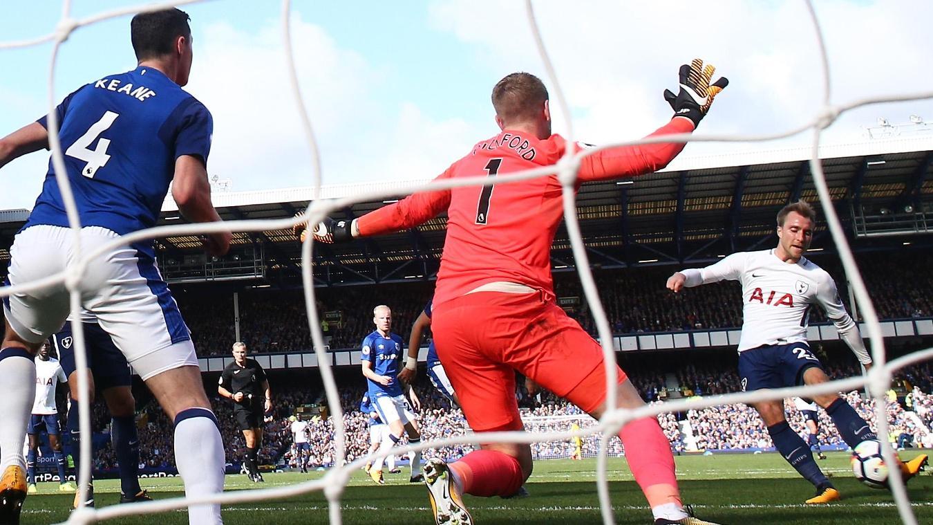 Everton 0-3 Tottenham Hotspur