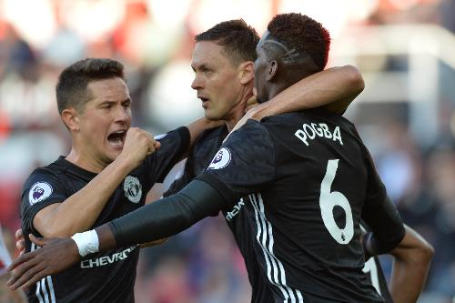 Stoke City 2-2 Manchester United Highlights