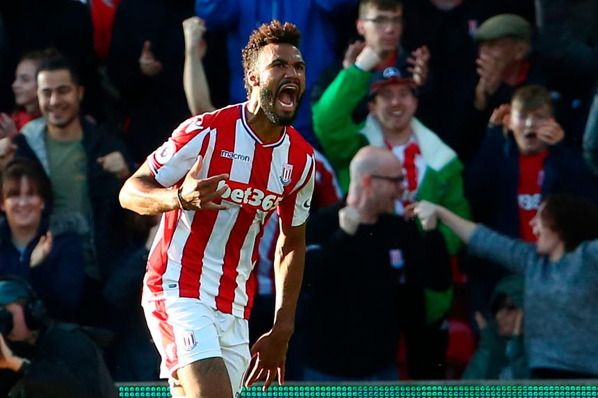 Choupo-Moting double ends Stoke draw with Man utd