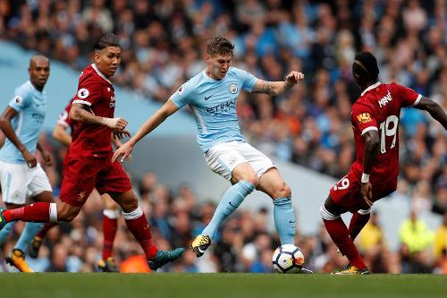 Man City V Liverpool 2017 18 Premier League