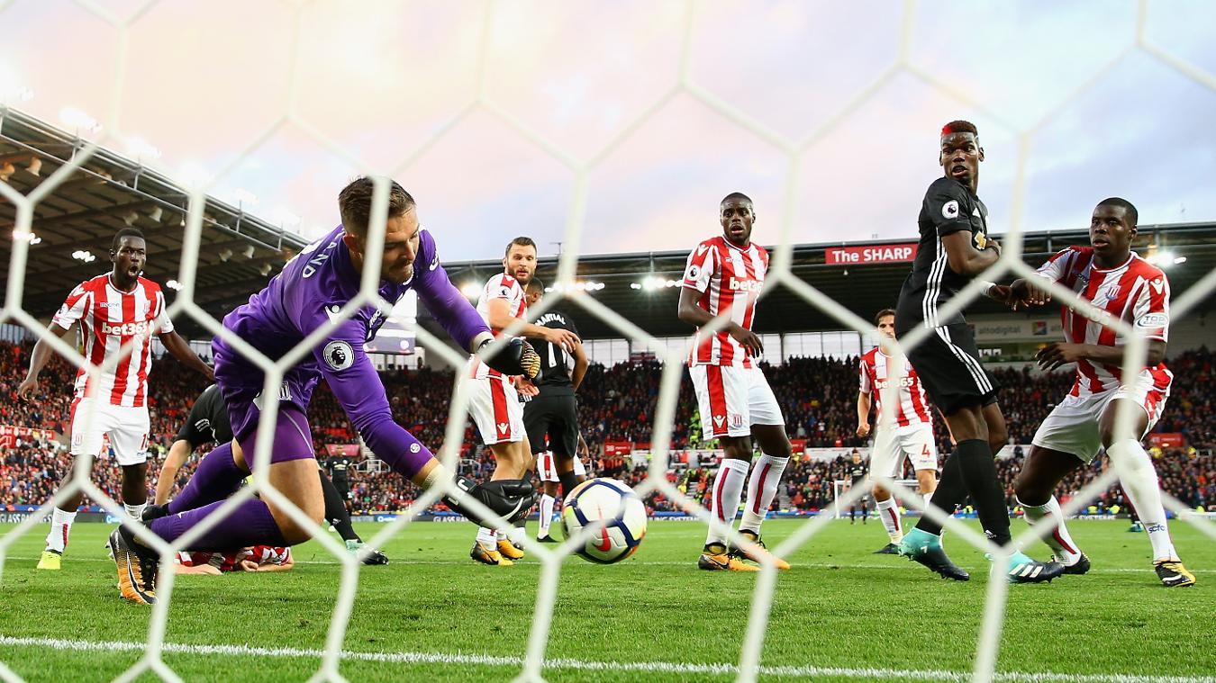 Stoke City 2-2 Man Utd