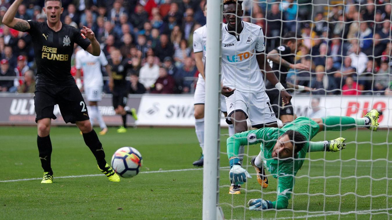 Swansea City 0-1 Newcastle United