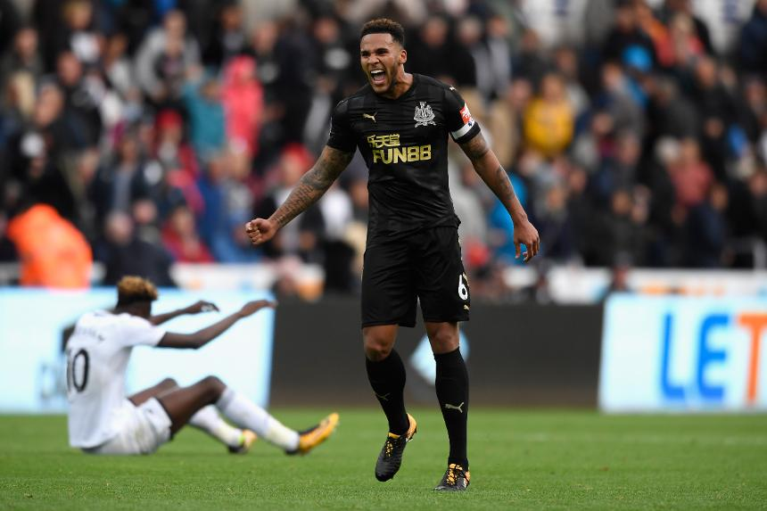 Lascelles is Newcastle hero in victory over Swansea