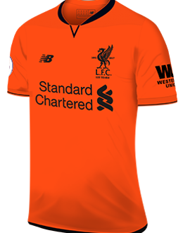 Liverpool third kit, 2017-18
