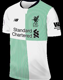 Liverpool away kit, 2017-18